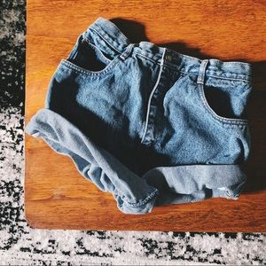 Vintage high rise Cali girl mom jean shorts p7